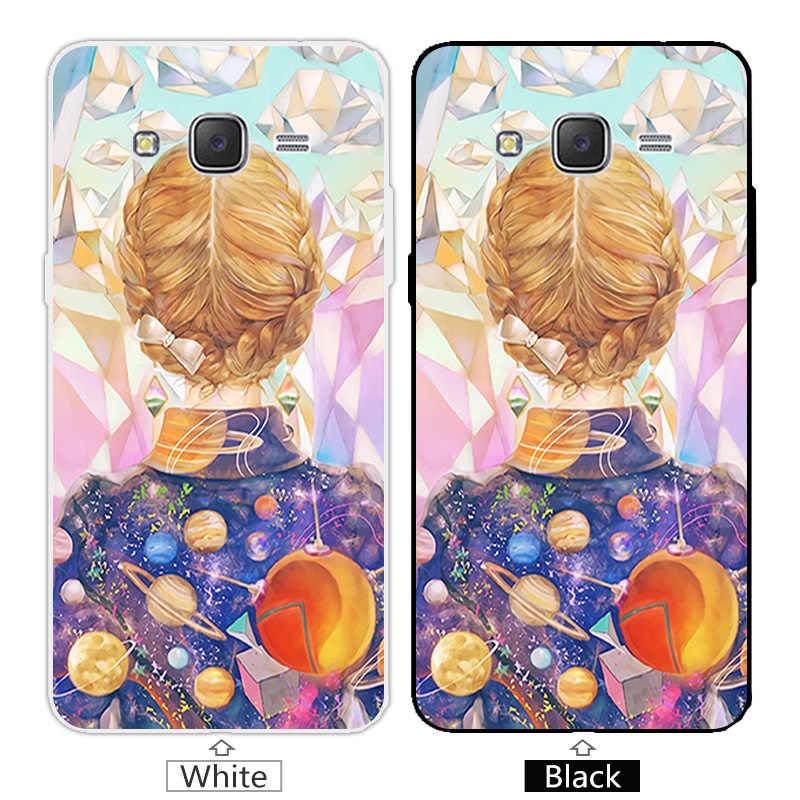 Cho Coque Samsung Galaxy Đại Prime G530 G530H Hồng Bìa Silicone Cho Samsung Đại Prime G530Y G530FZ G531 Trường Hợp Điện Thoại