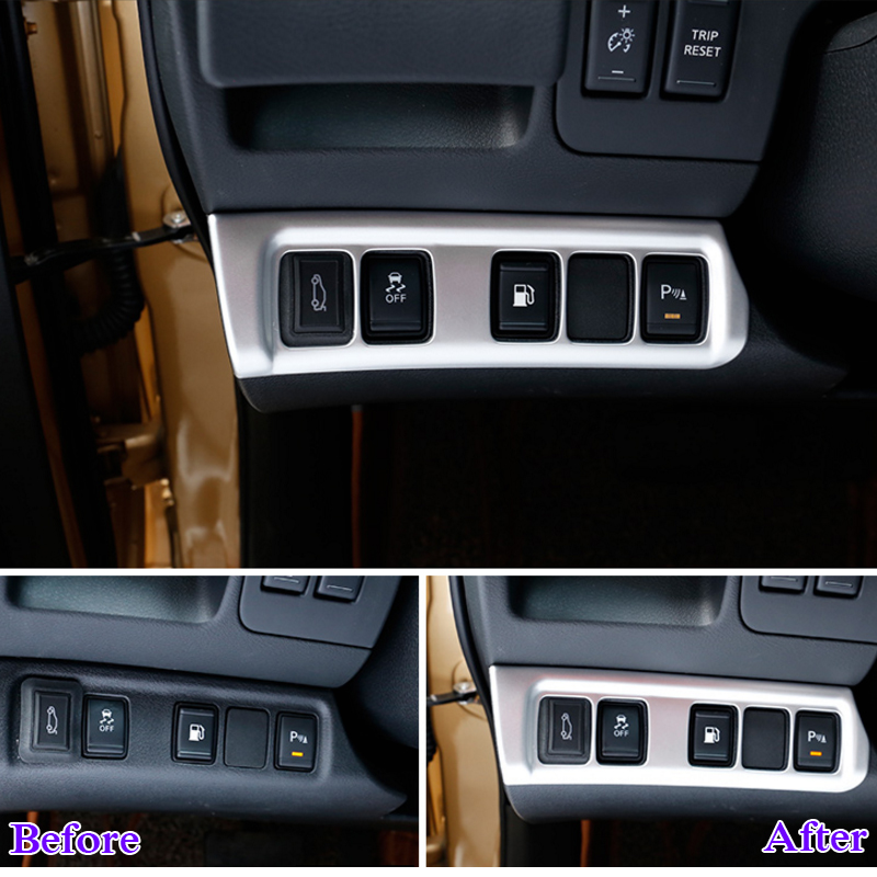 Aliexpress com : Buy QCBXYYXH ABS Car Styling For Nissan Terra Navara NP300  2018 2019 Car Headlight Switch Frame Sequins Internal Decoration Covers