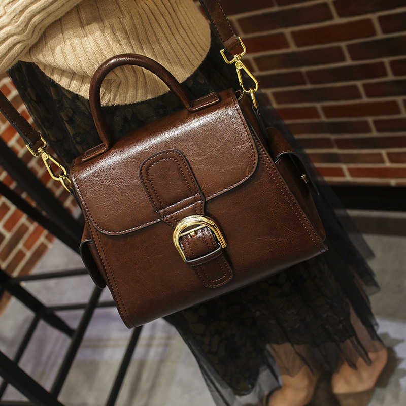 Luxury Quality Women Leather Casual Vintage Female Shoulder Bag Brand Sequined Women Handbags Messenger Bag viewinbox vintage shoulder bag split leather casual women messenger handbags retro box case bag