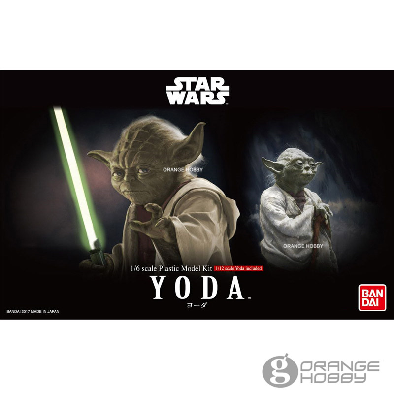 OHS Bandai SW 1/6 Yoda Assembly Model Kits bandai sw 1 12 stormtrooper assembly model kits