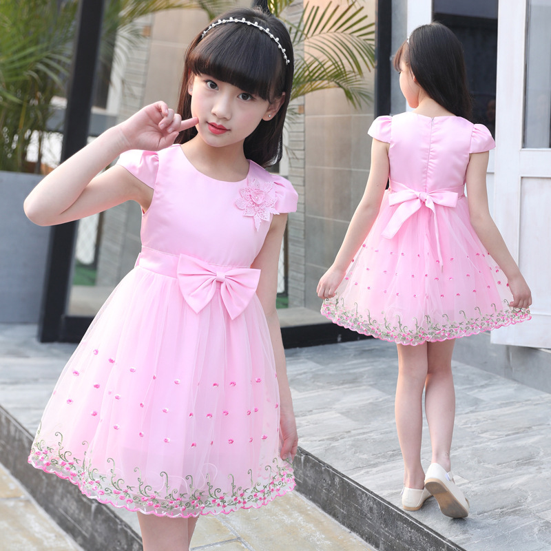 Teenage Girl Dresses Long Formal Prom Gown for Kids Girls Baby Dress girl princess Wedding dress girl christmas Children Clothes цена