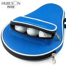 Huieson профессиональный стол из ткани «Оксфорд» Теннисная ракетка Чехол с наружной молнией сумка для настольного тенниса Мячи аксессуары для настольного тенниса