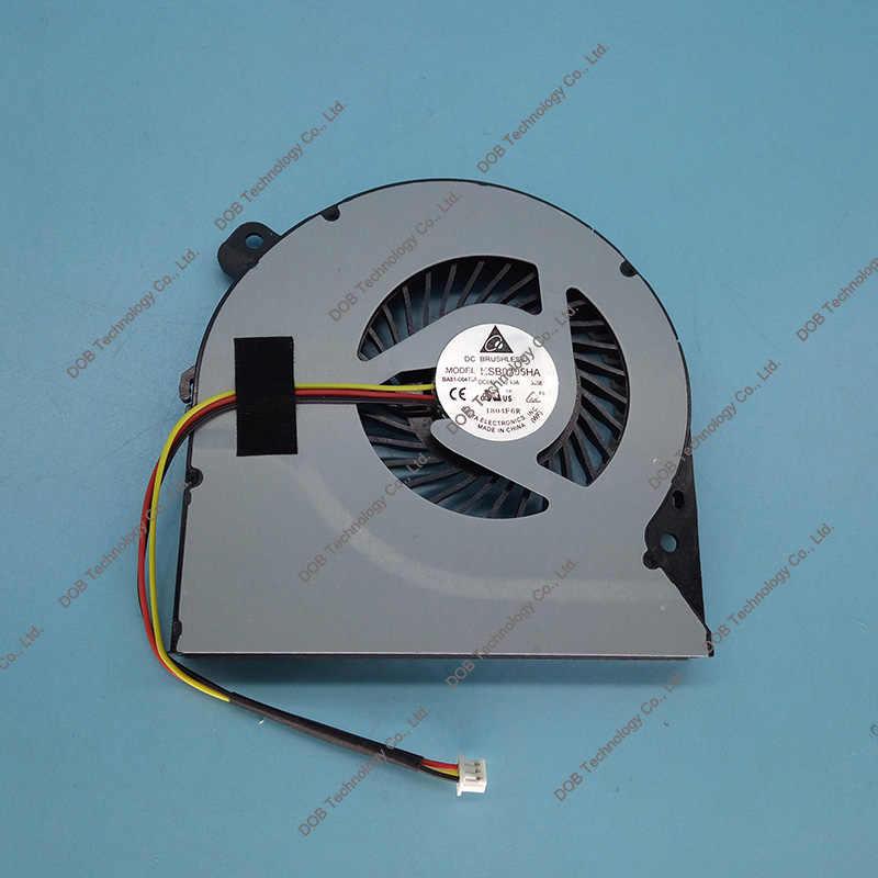 Nuevo ventilador de refrigeración para ASUS K550D X750DP K550DP K550 cpu ventilador nuevo KSB0705HA portátil ventilador de refrigeración de la cpu