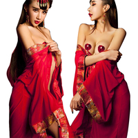 2017 Hot Women Sexy Night Dress Sex Product Bathrobe Rayon Silk Sexy Sleepwear Pajamas Nightdress Robes