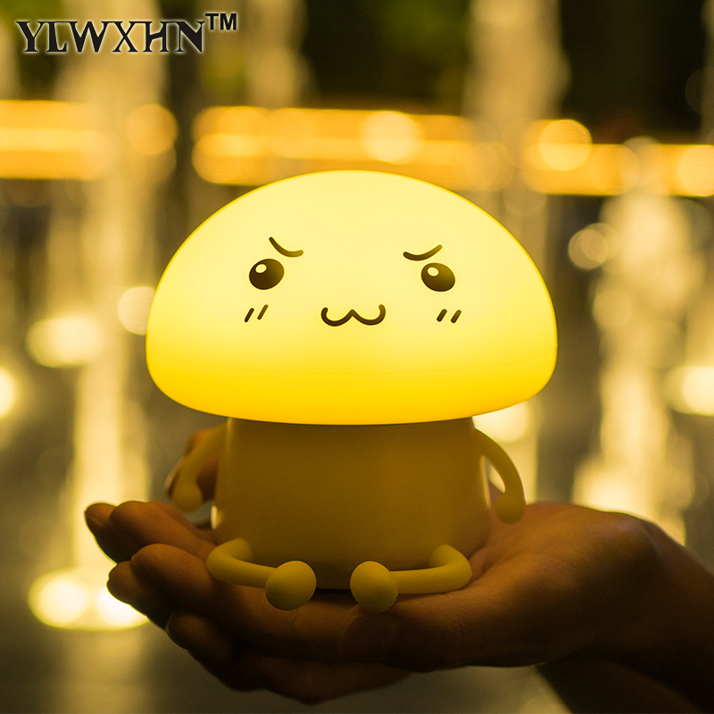 2017 Sale Abajur Lamparas The New Compact Led Touch Silicone Patted Lights Adorable Pet Aberdeen Q Atmosphere Lamp Nightlight