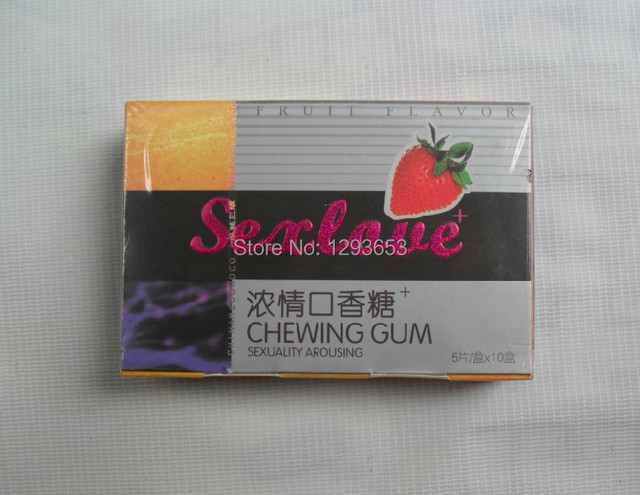Sex love chewing gum sexuality arousing