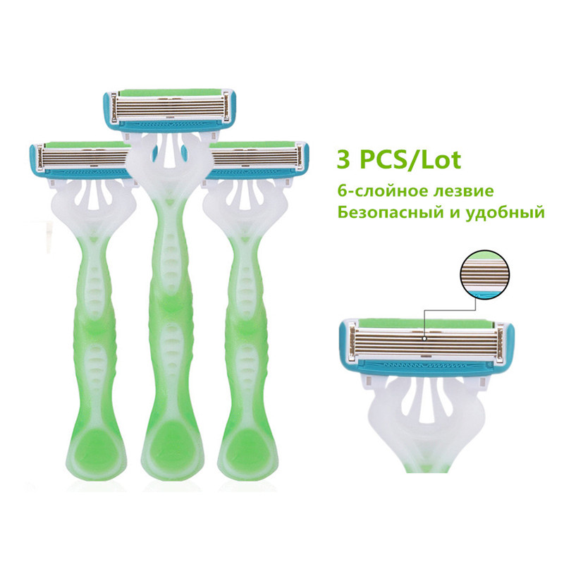 Professional 3pcs/lot Shaving Razor For Women Hair Remover Sharpener Trimmer Depilator Barber Body Beauty Shaver