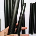 3K Carbon Fiber Tube 5*3*500mm 5mm Tube for RC Airplane Aerobatics / Kite Rod