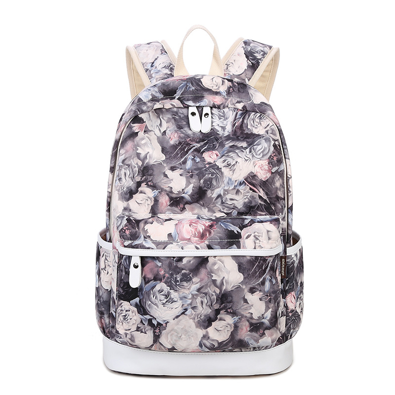 Winner Brand Unique Printing font b Backpack b font font b Women b font Floral Bookbags