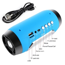 Portable Wireless Bluetooth Speaker with Mic