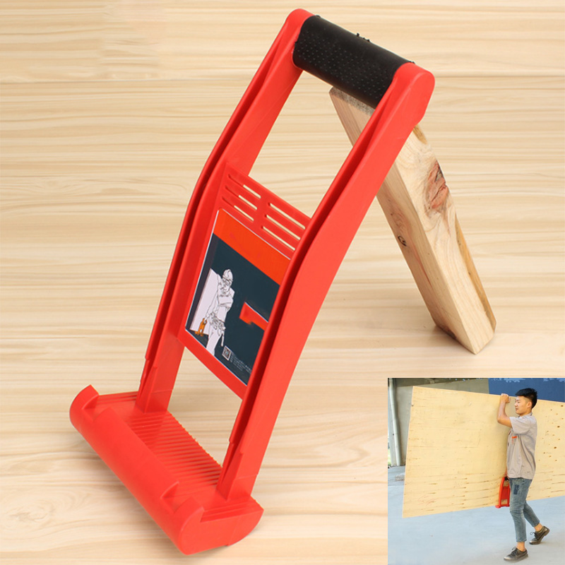 Panel Carrier Gripper Handle Carry Drywall Plywood Sheet ABS 80KG Load Tool HYD88