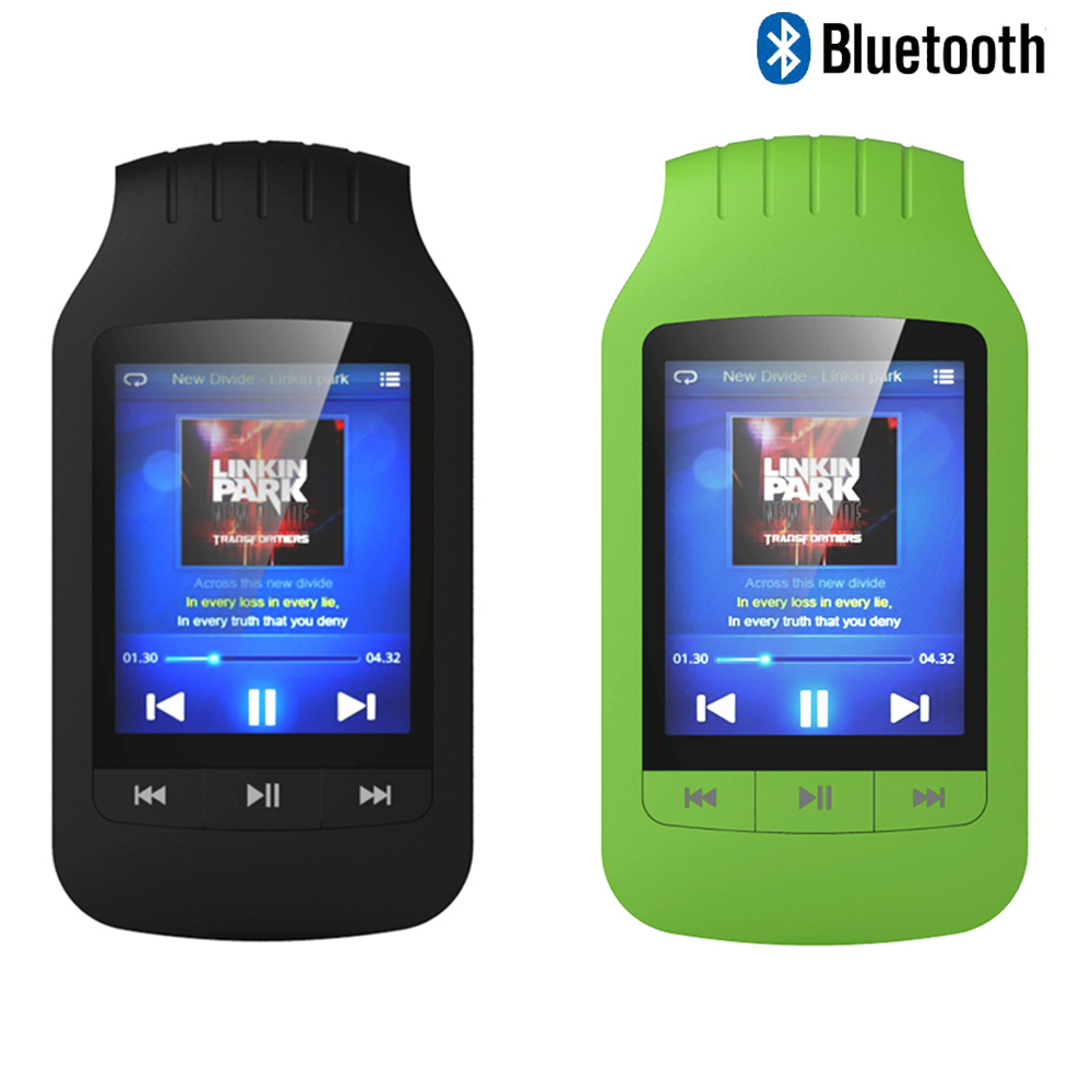 Mini portable mp4 player Bluetooth 8GB Sport Pedo Meter FM Radio Video Player mp4 Music Player Hifiman Player Bluetooth цена и фото
