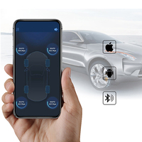 4PCS/Set Sensors Bluetooth 4.0 Car External Sensor TPMS Tire Pressure Monitoring System BLE TPMS Low Energy For Android and IOS