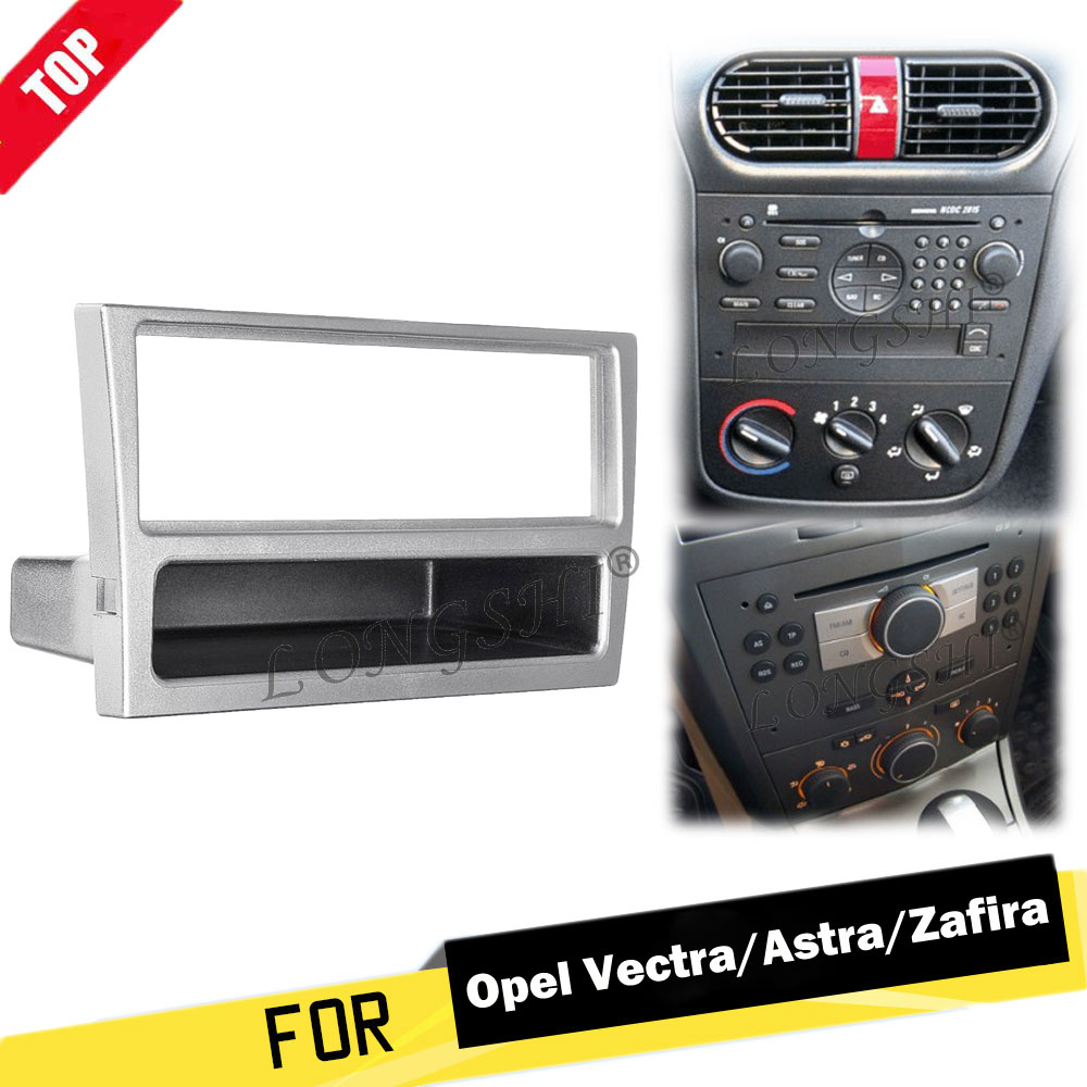 1 Din Car Stereo Radio DVD Player Fascia Panel Plate Frame For OPEL Agila Tigra Astra For Corsa for Omega For Signum For Vectra-in Fascias from Automobiles & Motorcycles