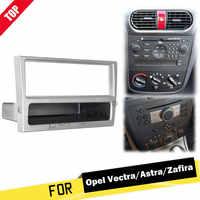 1 Din Car Stereo Radio DVD Player Fascia del Pannello Telaio In Lamiera Per OPEL Agila Tigra Astra Per Corsa per Omega per Signum Per Vectra
