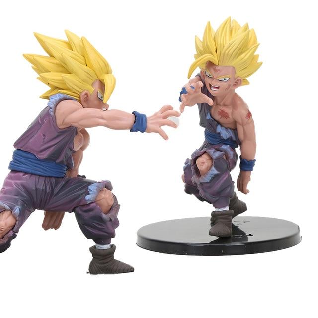 Anime brinquedos Gohan Super Saiyan Goku Dragon Ball Z figura Estatueta Ação PVC Figuras Brinquedos