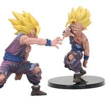 Anime brinquedos Super Saiyan Son Goku Gohan jednoczęściowy rysunek Dragon Ball Z figurka pcv figurki zabawki
