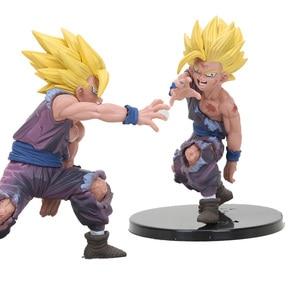 Image 1 - anime brinquedos Super Saiyan Son Goku Gohan one piece figure Dragon Ball Z Figurine PVC Action Figures Toys