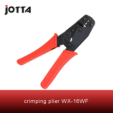 WX-16WF crimping tool plier 2 multi tools hands Ratchet Crimping Plier (European Style)