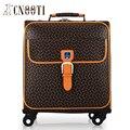 Business casual masculina das mulheres universal rodas carrinho de bagagem saco saco de viagem bagagem impermeável, Moda de alta qualidade sacos de viagem