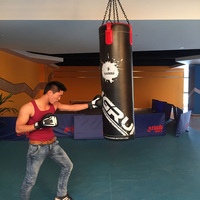 Empty Kick Boxing Bag 130cm Training Fitness Punching Bag Saco De Pancada Boxeo Hook Hanging MMA Fight Sandbag
