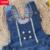 Nova Marca Do Bebê Roupa Da Menina Primavera 2017 Calça Jeans Bebe Infantil Macacão Para A Criança Infantil Denim Macacões Macacão Macacão de Renda