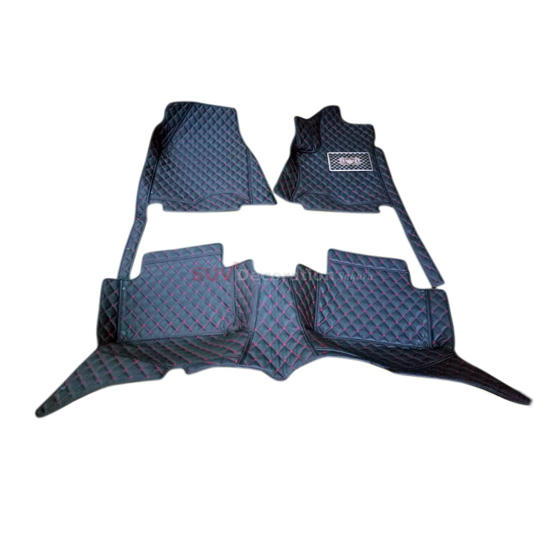For Mercedes-Benz C Class W205 2014 2015  2016 2017 Accessories Interior Leather Carpets Cover Car Foot Mat Floor Pad 1set car seat cover automobiles accessories for benz mercedes c180 c200 gl x164 ml w164 ml320 w163 w110 w114 w115 w124 t124