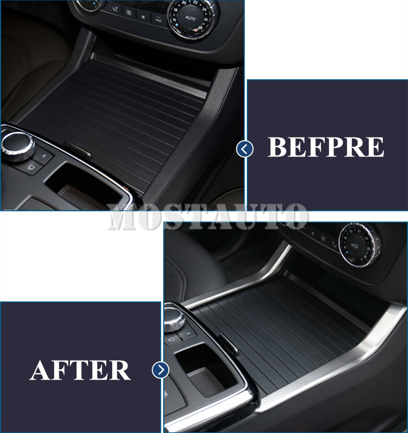 Za Benz ML W166 2012-2015 GL X166 2013-2015 Unutarnja konzola Držač - Dodaci za unutrašnjost automobila - Foto 5