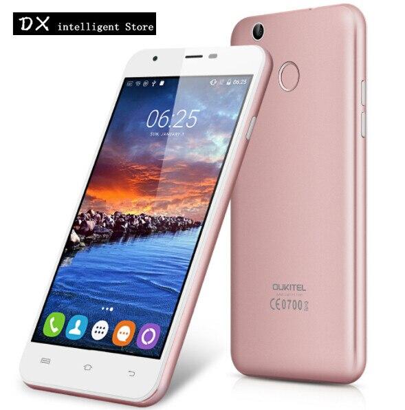 bilder für Original Oukitel U7 PLUS Handy 5,5 Zoll MTK6737 Quad Core 4G SmartPhone 2 GB + 16 GB Android 6.0 8MP fingerabdruck Handy
