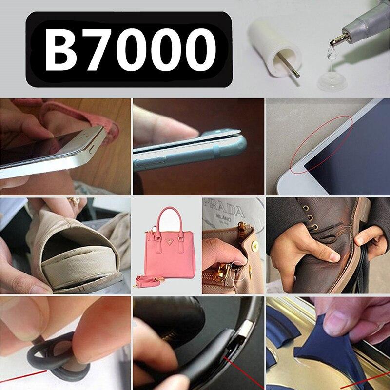 Zlinkj 1 шт. 25 мл клей многоцелевой b7000 DIY инструмента телефон ЖК-дисплей Сенсорный экран Средний Рамки корпус b-7000 клей