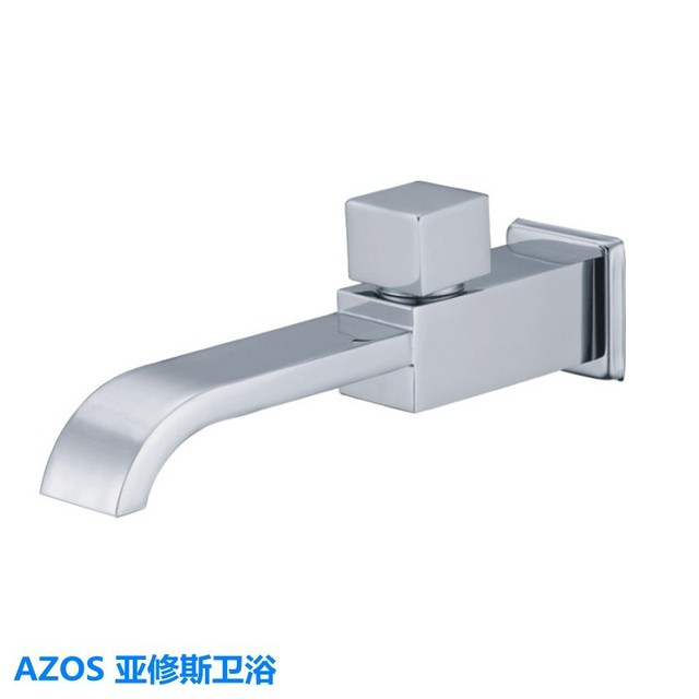 Bath Tub Sink Faucets Modern Chrome Fitted Wall Mount Brass Single