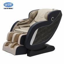 цена на Philippines Luxury Full Body Cheap SL Shape Electric 4d Zero Gravity Massage Chair shiatsu controller cushion price