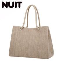 где купить Women Shoulder Bags Female Handbag Canvas Bag Ladies Handbag Large Capacity Casual Totes Big Shopping Bag Brand Designer дешево