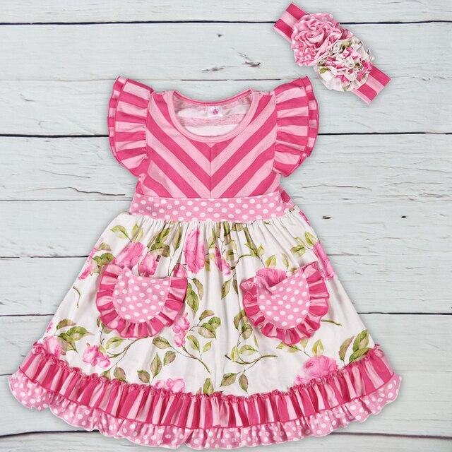 244927714abb New Design Baby Girls Summer Dress Clothing Girls Floral Dress ...