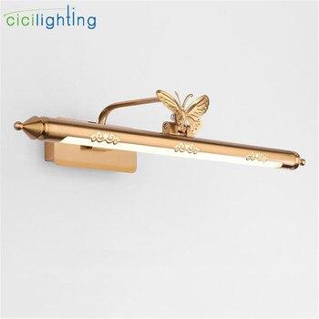 зеркальный обеденный стол   9 Вт 12 Вт 14 Вт светодиодный настенный светильник для ванной комнаты зеркальный светильник S умывальник Туалет настенный светильник светильн...