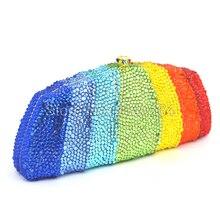 Luxus Aus Kristall Abendtaschen frau tote Handtasche hochzeit frauen geldbörse Großhandel brauttasche 88445