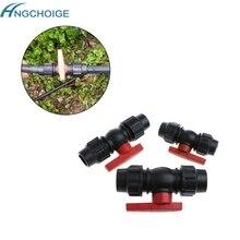 Горячая 20 мм/25 мм/32 мм водопровод быстродействующий клапан соединитель PE шар для фитнеса с оболочкой клапаны аксессуары jun20
