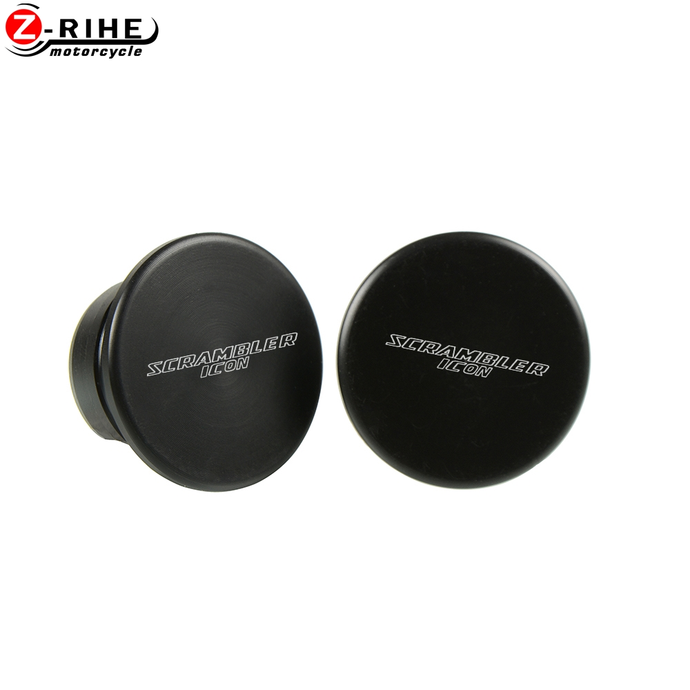 For Ducati Scrambler Icon 2015 2016 2017 Frame Motorcycle Nylon Hole Caps Decorative Cover Set Frame Plug Cap Frame Hole Cover in Covers Ornamental Mouldings from Automobiles Motorcycles