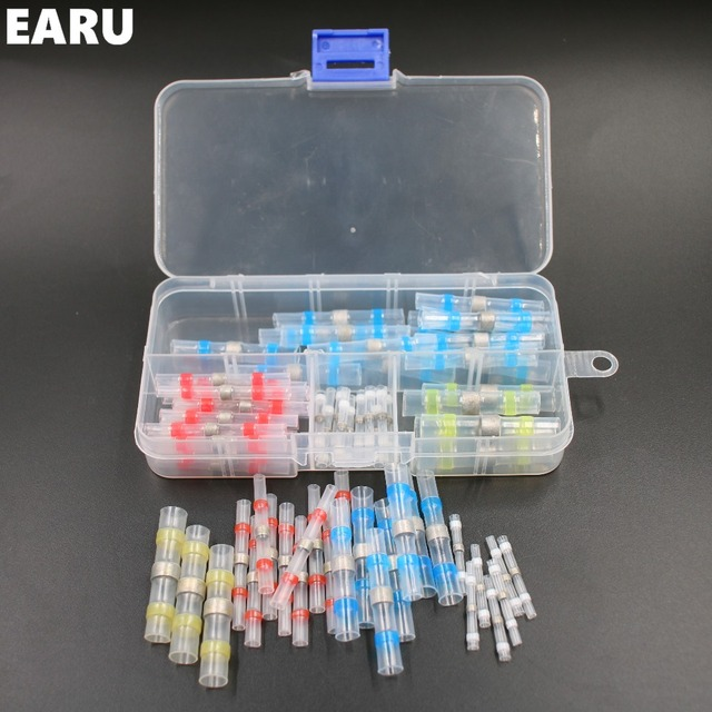 Aliexpress.com : Buy 50pcs New Heat Shrink Solder Sleeves Cable Wire ...