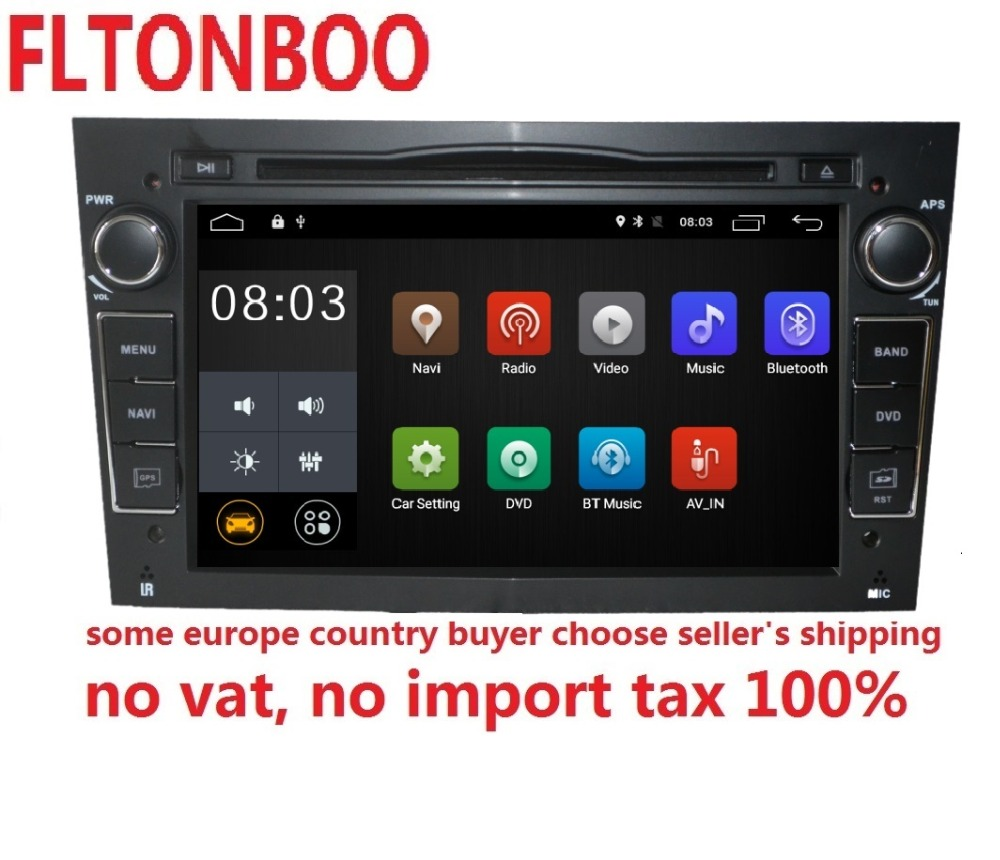 7 Android 8.1 pour opel astra h, zafira, vectra 2din voiture dvd, gps de navigation, wifi, radio, bluetooth, canbus, volant, livraison 8g carte