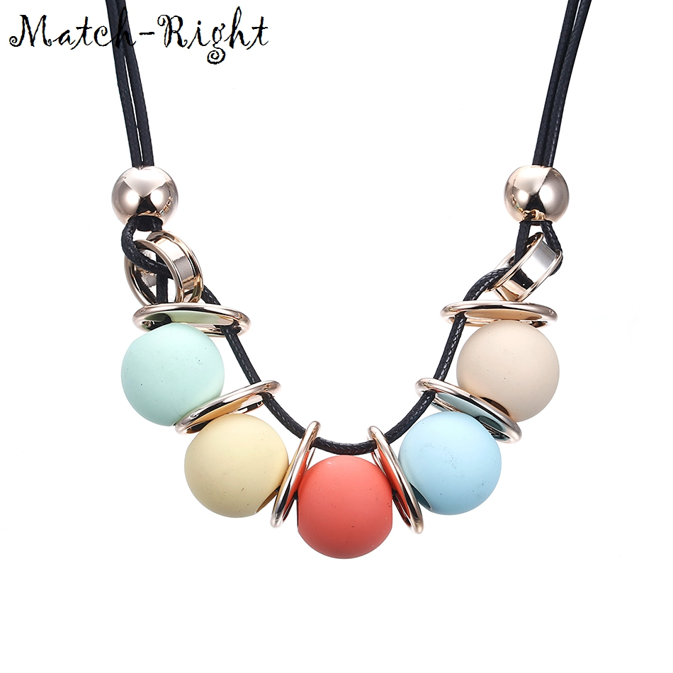 Match-Right Women Trendy Maxi Necklaces & Pendants Statement Rope Chain