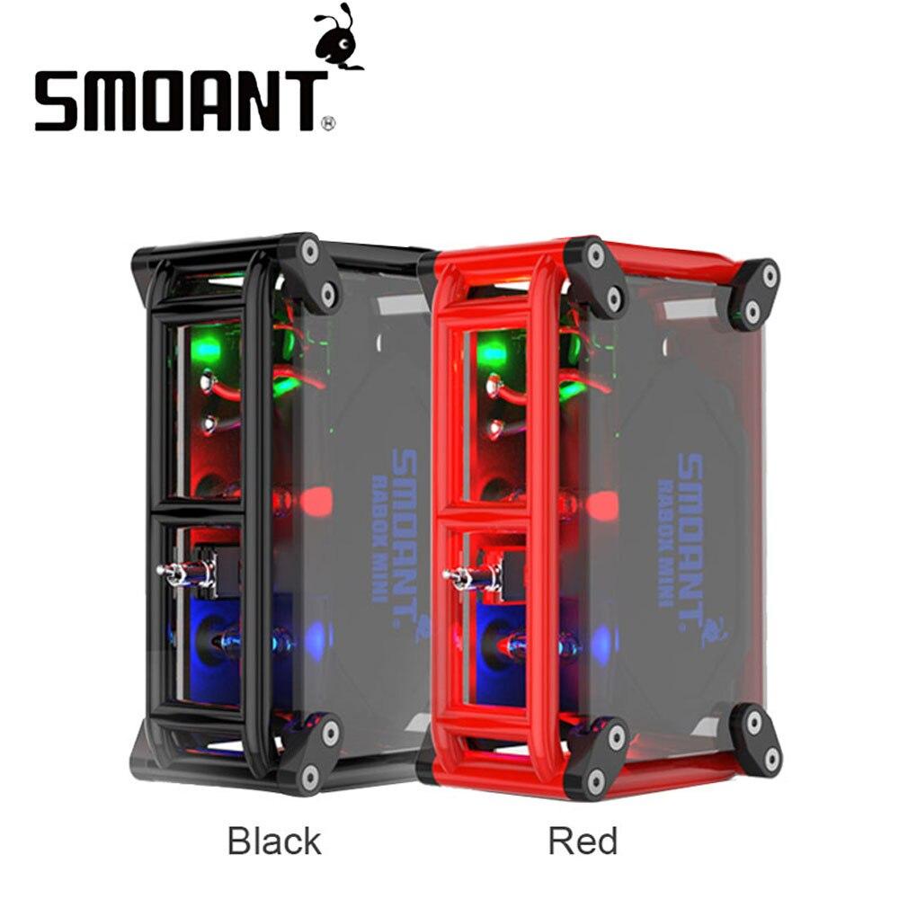 Original 120 W Smoant RABOX Mini MOD intégré 3300 mAh batterie longue durée vapotage de nombreuses améliorations que RABOX Mod e-cig Vape Mod