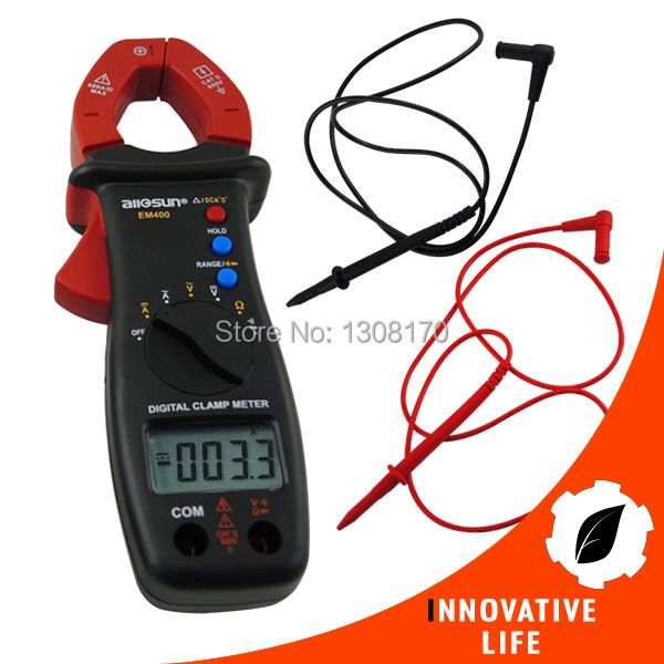 Digital Clamp Meter Multimeter DC AC Voltage Current Diode Continuity Resistance Tester  DCA  ACA clip on ammeter digital clamp meter current voltage resistance test clamp meter