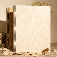 2017 Hot Wood Cover Albums Handmade Loose-leaf Pasted Photo Album Personalized Wedding Baby Photo Album Scrapbooking