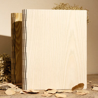 2017 Hot Wood Cover Albums Handmade Loose leaf Pasted Photo Album Personalized Wedding Baby Photo Album Scrapbooking