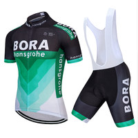 2018 Summer Short Sleeve Bora Cycling Set Mountain Bike Clothing Breathable Bicycle Jersesy Clothes Maillot Ropa