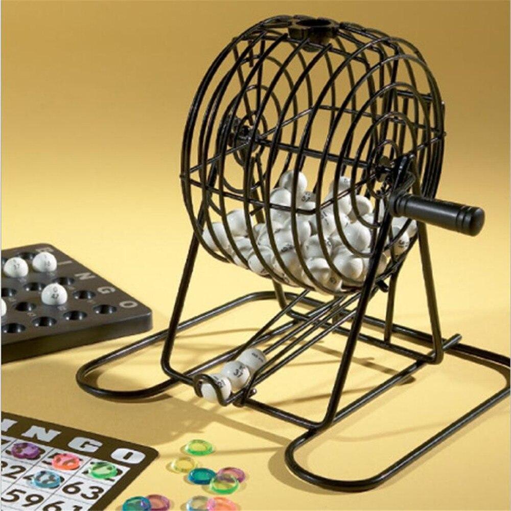 Jeu de BINGO complet manuel jeu de Bingo américain 18 cartes jeu de Bingo