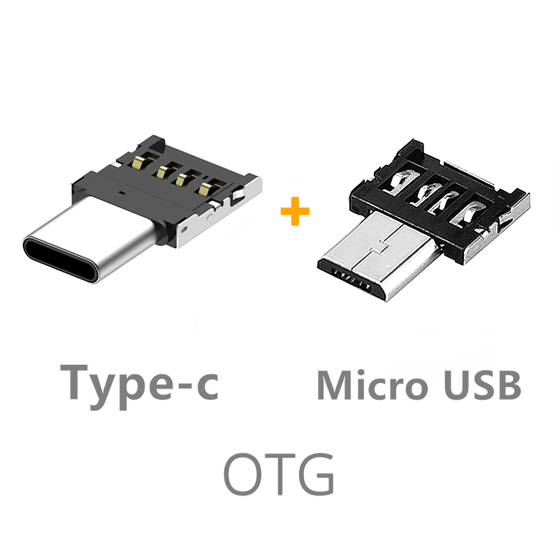 Guuds Ultra Small Micro USB Type-C Male To USB Female Adapter Smallest Type-C OTG Adapter Type C OTG Connector TypeC V8 OTG