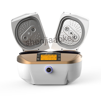 1pc Household smart dual bile rice cooker SA FD4501 multifunctional automatic double door electric cooker food cooking machine