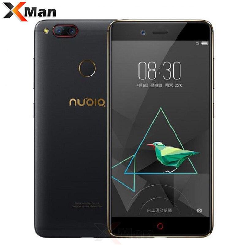 Original Nubia Z17 Mini 4 gb RAM 64 gb ROM Dual Zurück Kamera Handy Snapdragon 652 Octa Core 5,2 zoll Fingerprint 1080 p FHD